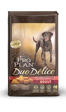 Pro Plan Duo Delice Adult Rich in Salmon with Rice
