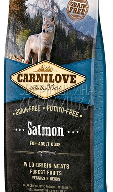 Brit Carnilove Adult Salmon