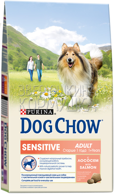 Dog Chow Sensitive With Salmon