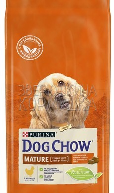 Dog Chow Mature Adult 5+ With Chicken
