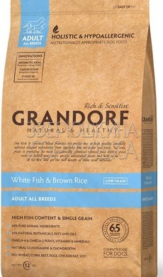 Grandorf Adult All Breeds Fish & Brown Rice