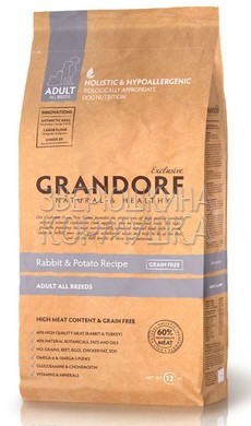 Grandorf Adult All Breeds Rabbit&Potato Grain Free