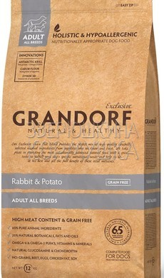 Grandorf Adult All Breeds Rabbit & Potato Grain Free