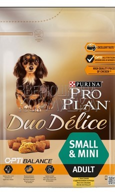Pro Plan Duo Delice Adult Small & Mini Rich in Chicken with Rice
