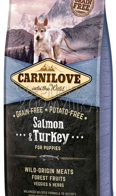 Brit Carnilove Puppy Salmon and Turkey