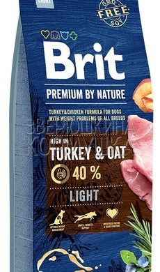 Brit Premium by Nature Light Turkey&Oat